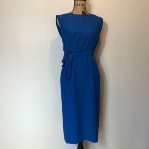 Boden midi dress with pockets size 6